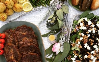 banquet catering platters